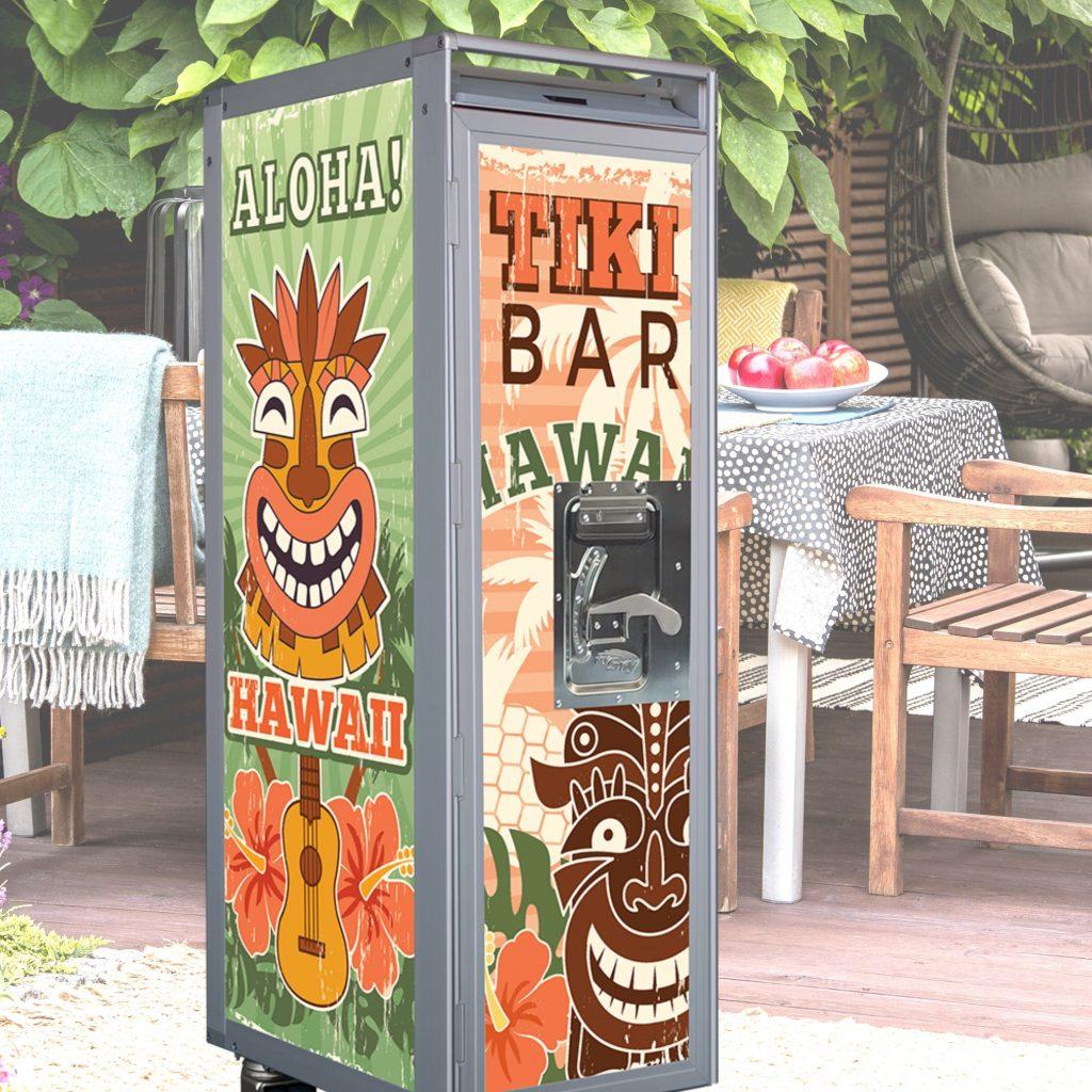 Tiki Bar SkyCart SCP622